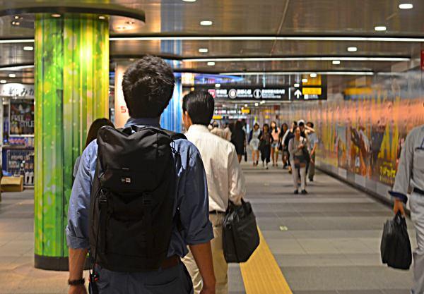 Japanese Candidate - Subway