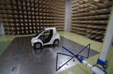 Toyota Coms in EMC laboratory