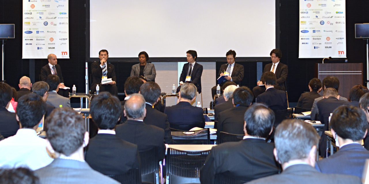 Panel Discussion on The Future of Energy Storage for Japan at Energy Storage Summit Japan 2015