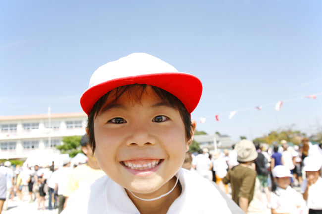 Japanese Education: Elementary School Boy