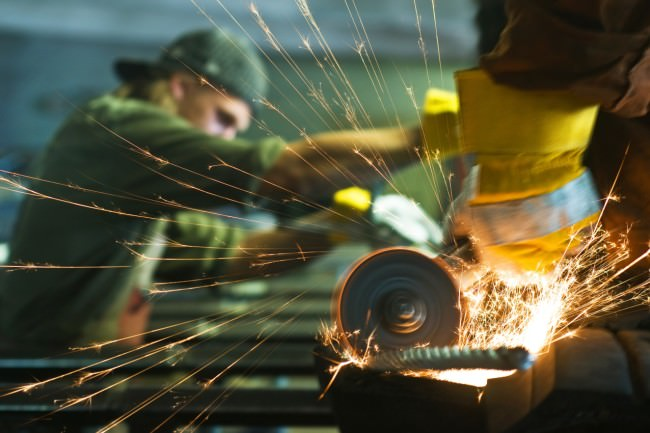 Avoiding Work-Related Accidents - Sparks Flying