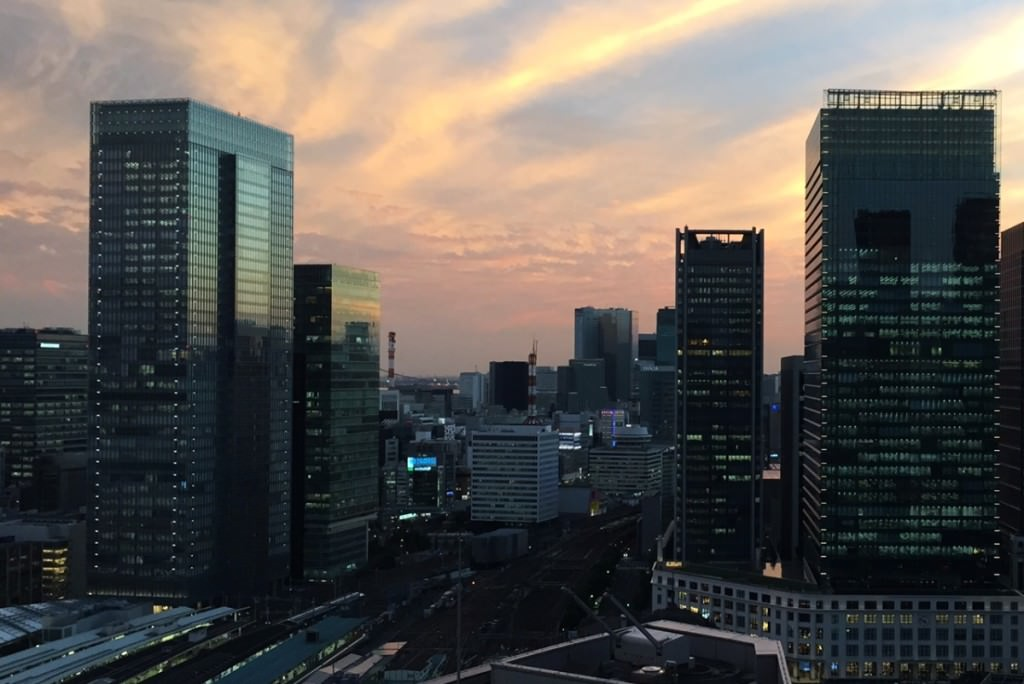 Dismissing Employees in Japan - Marunouchi Sunset