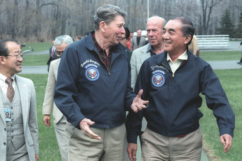 English in Japan - Reagan and Nakasone