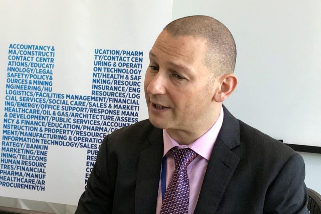 Marc Burrage, Hays Japan Managing Director