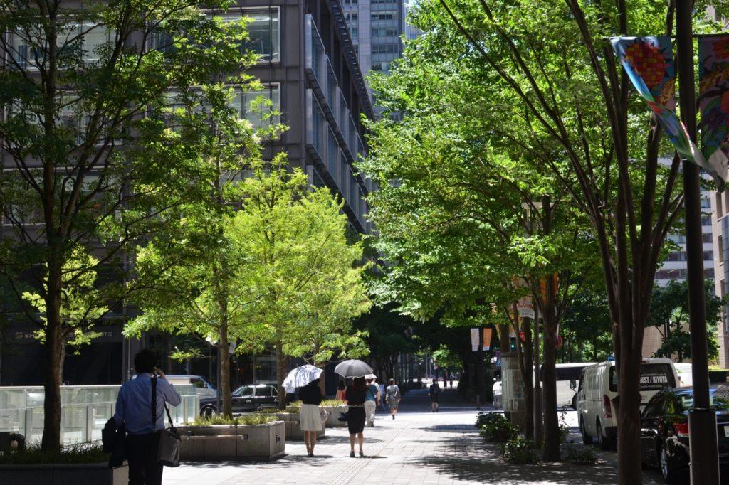Tokyo Marunouchi People Walking