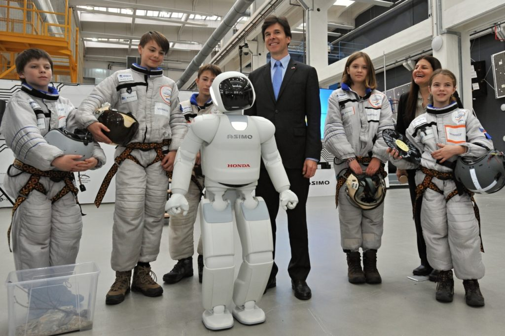 Honda Asimo Czech Science Center