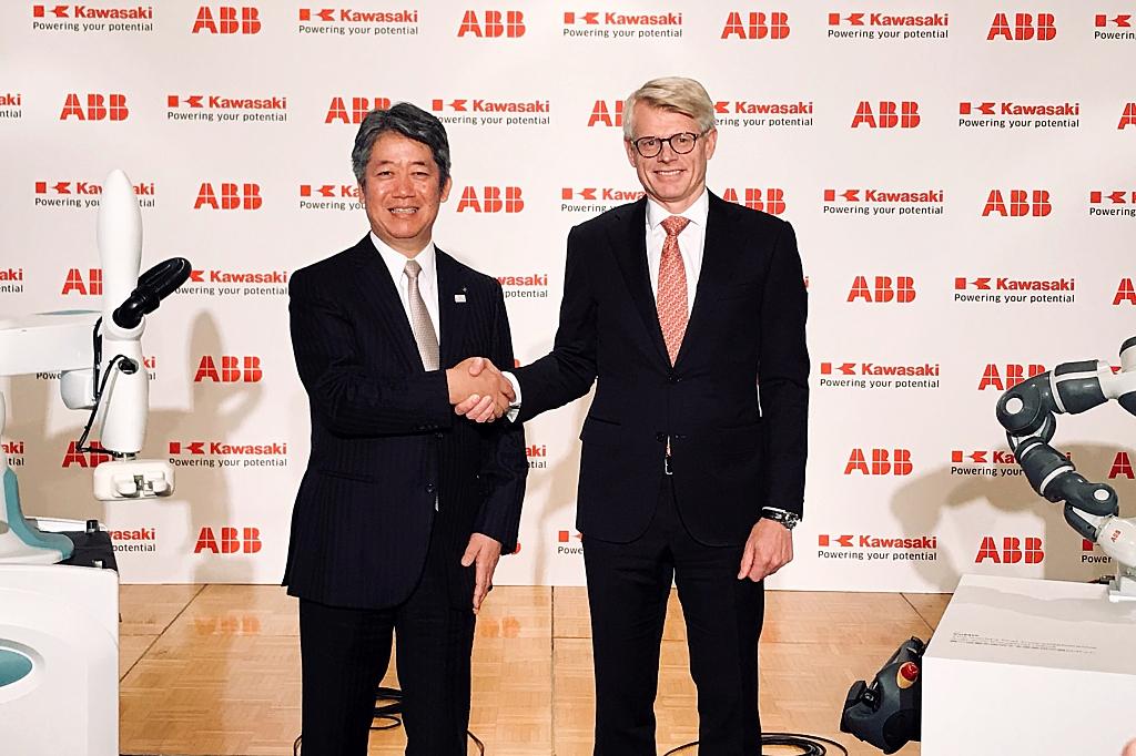 ABB and Kawasaki announce cobot collaboration